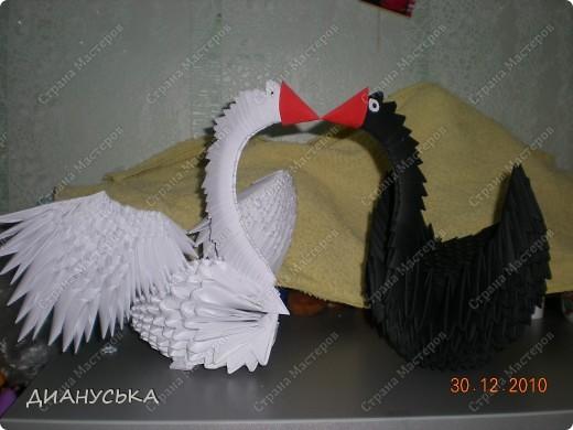 Лебеди- поделка на конкурс фото 1
