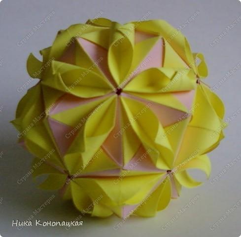 Кусудама Floral Globe фото 1