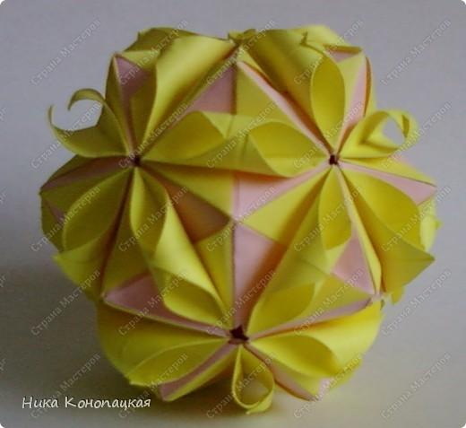 Кусудама Floral Globe фото 2
