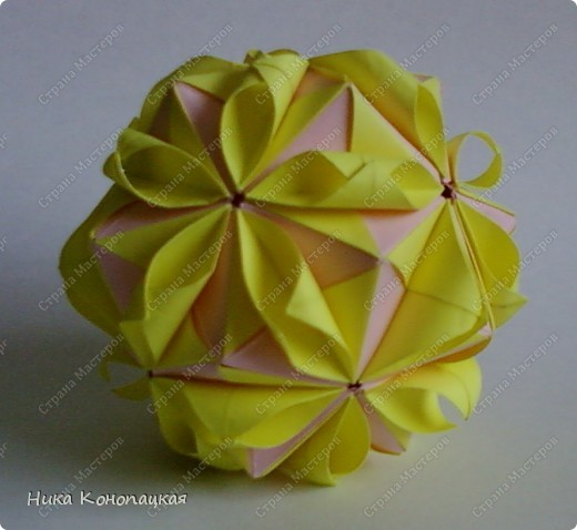 Кусудама Floral Globe фото 3