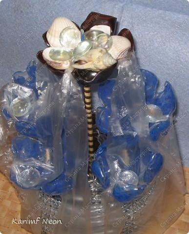 ФОНТАН из пластиковых Бутылок фото 2