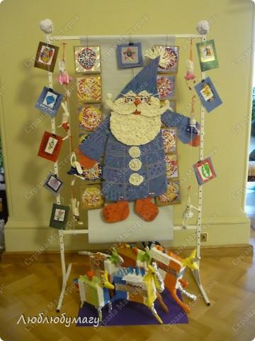 Только сейчас обнаружила что забыла поделиться с вами, дорогие мастерицы, впечатлениями от новогодней вставки детских дизайнпроектов. решила, хоть и сопозданием, но выложить небольшое количество фотографий. фото 1