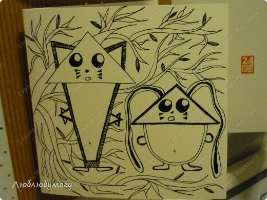 В этой серии будут, в основном, рисунки, графика и печать. фото 16