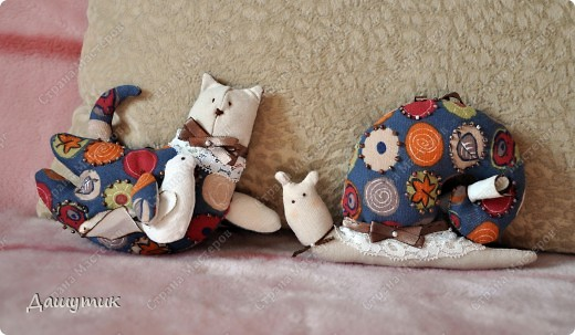 Тильдовские игрушки для моей подружки + выкройки)* фото 3