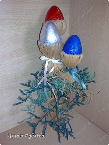 Пасхальное дерево. Работа моей ученицы Линчевской Дарьи. Такой красотой решила поделиться со всеми! фото 21