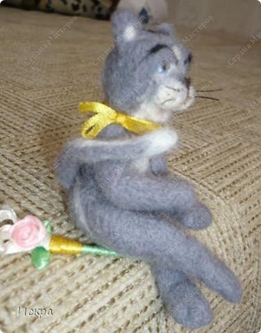 это моё второе произведение по валянию из шерсти, первым был мишка, фотографии к сожалению не сохранились. фото 2