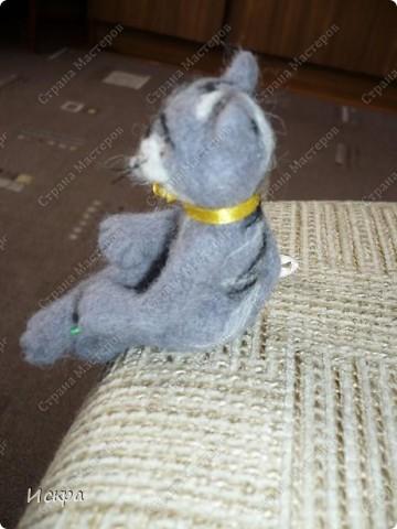 это моё второе произведение по валянию из шерсти, первым был мишка, фотографии к сожалению не сохранились. фото 3