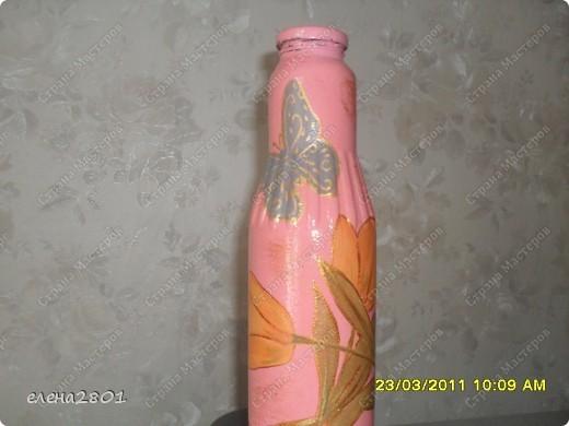 Вот такие подарки к Пасхе у меня получились. Все бутылочки уже раздарила тетушкам.... фото 3