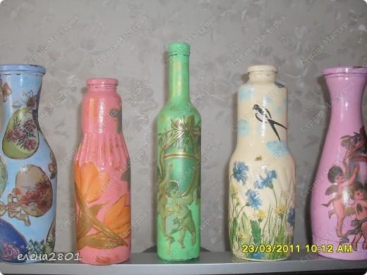 Вот такие подарки к Пасхе у меня получились. Все бутылочки уже раздарила тетушкам.... фото 1