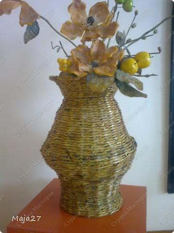 Вот такая ваза получилась. фото 1
