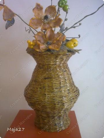 Вот такая ваза получилась. фото 2