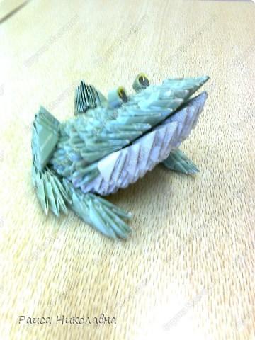 Попугайчики.Модульное оригами.Бумага.  https://stranamasterov.ru/node/19194?tid=451%2C328  фото 6
