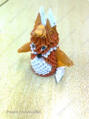 Попугайчики.Модульное оригами.Бумага.  http://stranamasterov.ru/node/19194?tid=451%2C328  фото 7