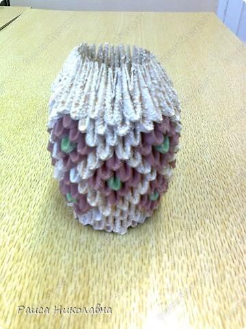 Попугайчики.Модульное оригами.Бумага.  http://stranamasterov.ru/node/19194?tid=451%2C328  фото 8