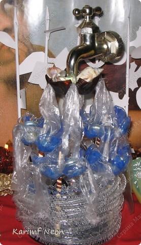 ФОНТАН из пластиковых Бутылок фото 6