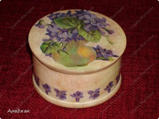 """Чайная коробочка """"Краски лета"""" Основа дерево. Салфетка, распечатка. Кружево. Акриловые краски. Структурная паста. фото 3"""