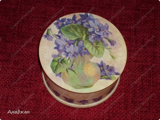 """Чайная коробочка """"Краски лета"""" Основа дерево. Салфетка, распечатка. Кружево. Акриловые краски. Структурная паста. фото 4"""