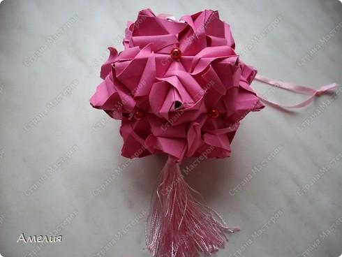 Кусудама Roses Spike фото 5