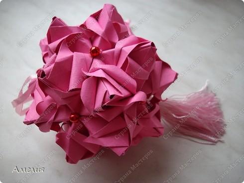 Кусудама Roses Spike фото 6