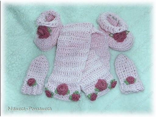 """Мой первый комплект-""""Розовые Розы"""" фото 1"""