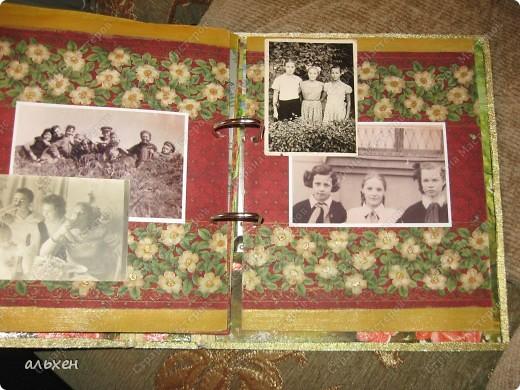 старую огромную папку (валялась лет 5) оклеила зам.кожи фото 9