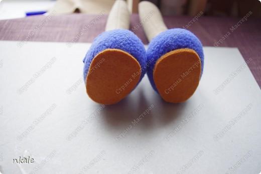 эта симпатичная коровка сшита по измененной выкройке   из PRetty  Toys  - игрушка так и называется - коровка Вакита фото 11