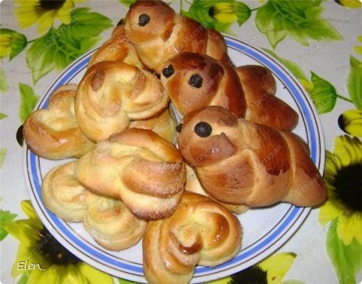 Сладкие пирожки с тыквой и вишней фото 3