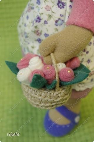 эта симпатичная коровка сшита по измененной выкройке   из PRetty  Toys  - игрушка так и называется - коровка Вакита фото 17