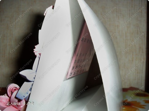 """Мама работает в свадебном салоне, и после того как увидела работу  Pastila """"Невеста"""" (http://stranamasterov.ru/node/104009?c=favorite ), загорелась идеей сделать что-то подобное ей на работу. Решила добавить календарик. фото 2"""