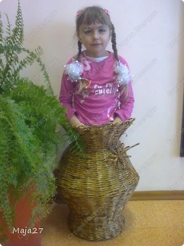 Большая ваза 52 см. фото 2