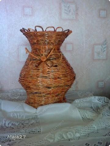 Большая ваза 52 см. фото 3