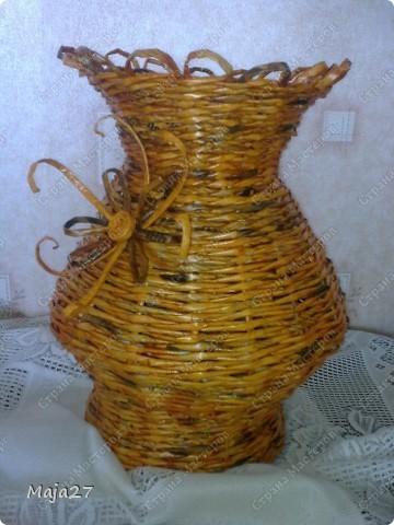 Большая ваза 52 см. фото 1
