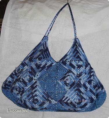 Вот и я закончила сегодня создавать свою сумочку. фото 1