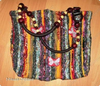 Еще одна тканая сумочка. фото 1