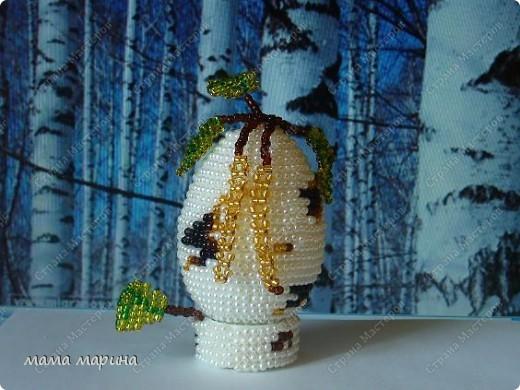 Очень хотела иметь у себя такое яйцо, нежную весеннюю берёзку, и вот счастье я его сделала. фото 4