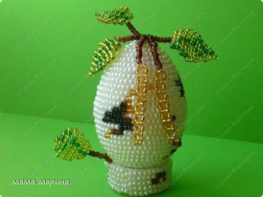 Очень хотела иметь у себя такое яйцо, нежную весеннюю берёзку, и вот счастье я его сделала. фото 1