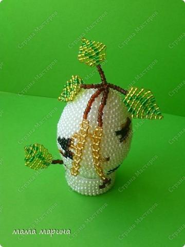 Очень хотела иметь у себя такое яйцо, нежную весеннюю берёзку, и вот счастье я его сделала. фото 2