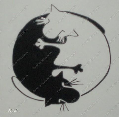 Кошачий инь-янь (поздравляю всех мастериц сайта с 1 апреля) фото 1