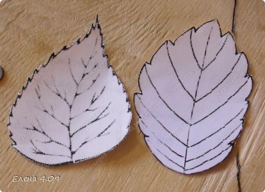 Хочу поделится идеей вот таких листочков. Может кому пригодится =) фото 3