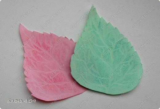 Хочу поделится идеей вот таких листочков. Может кому пригодится =) фото 1
