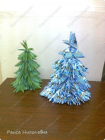 Ромашки. Модульное оригами. Бумага. фото 2