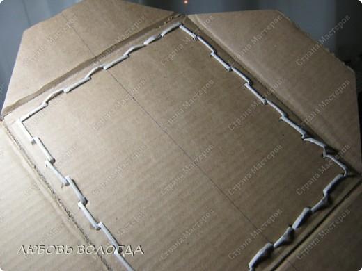 Вот такая коробочка дожидается отделки  А теперь все с начала фото 9