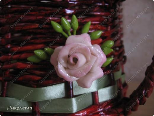 башмачок , приспособила для украшения розочки из ХФ (розочки можно сказать дебютные)  фото 5