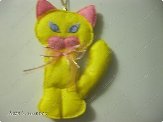 Кот просто прикольный) украшения на холодильник фото 1