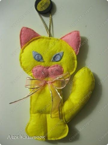 Кот просто прикольный) украшения на холодильник фото 4