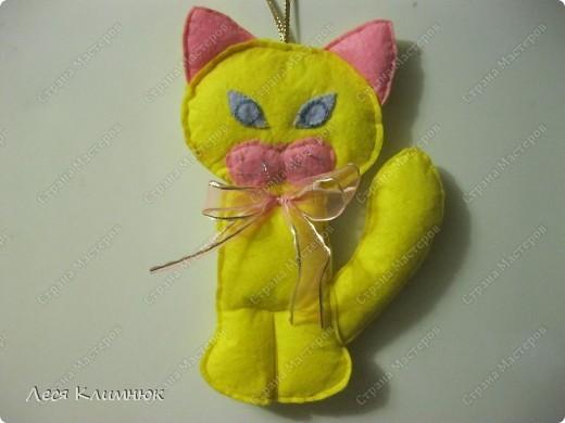 Кот просто прикольный) украшения на холодильник фото 5