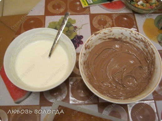 Предлагаю испечь шоколадно-медовый торт . Набор продуктов доступный, торт очень сытный и большой получается. Можно взять и половину всех ингредиентов, но придется снова печь на следующий день:)))) Проверено на своих домочадцах неоднократно фото 3