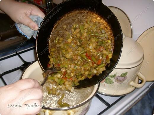 Дочке на 8 марта подарили набор для японской еды. Вот и решили мы сегодня эту посуду обновить. Готовили суп мисо первый раз, но вроде неплохо получилось, кстати готовиться быстро. фото 10