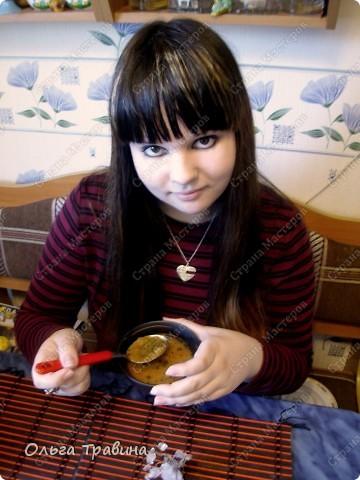 Дочке на 8 марта подарили набор для японской еды. Вот и решили мы сегодня эту посуду обновить. Готовили суп мисо первый раз, но вроде неплохо получилось, кстати готовиться быстро. фото 13