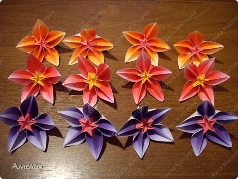 Сделаем цветы и основу к ним. Автор основы Томоко Фусе фото 49